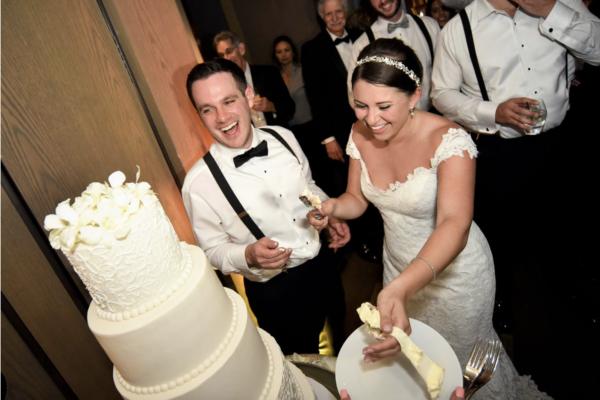 W hotel wedding ft lauderdale cake