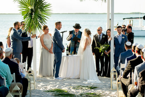 michelle and Jordan ceremony in Key Largo 1