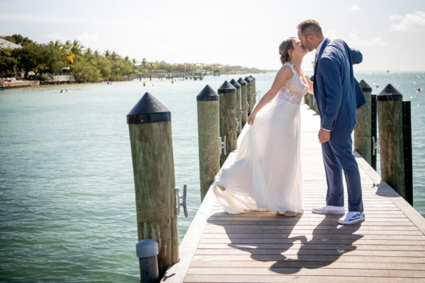 michelle and Jordan key Largo wedding